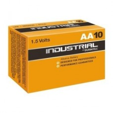 Duracell Industrial AA Batteries 1.5V LR6 MN1500 ID1500 - Box of 10