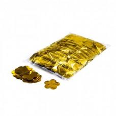 Magic FX Slowfall Metallic Confetti Flowers Dia 55mm - Gold
