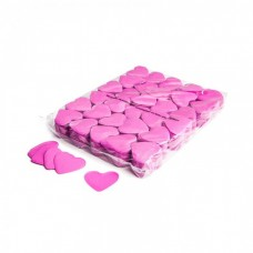 Magic FX Slowfall Confetti Hearts Dia 55mm - Pink