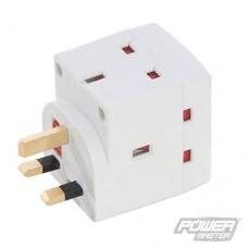 Power Master 3-Gang Socket Adaptor