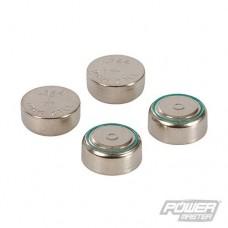 Power Master Alkaline Button Cell LR44 4pk