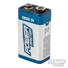 Power Master 9V Super Alkaline Batteries (6LR61) PP3