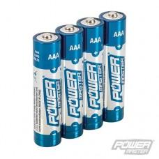 Power Master AAA Super Alkaline Battery LR03 4pk