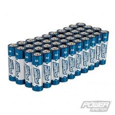 Power Master AA Super Alkaline Battery LR6 40pk