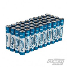 Power Master AAA Super Alkaline Battery LR03 40pk