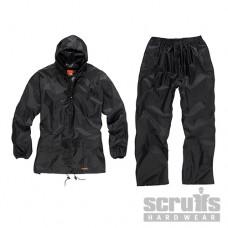 Scruffs 2-Piece Waterproof Suit Black