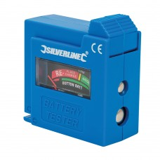 Silverline Compact Battery Tester 918147