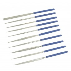 Silverline Diamond Needle File Set 10pce 633509