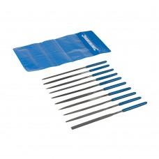 Silverline Needle File Set 10pce MS100