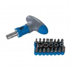 Silverline T-Handle Ratchet Screwdriver Set 22pce 380746