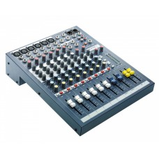 Soundcraft EPM6 6:2 Multipurpose Mixer 6-Mic 2-Stereo i/p Exc Rack Kit