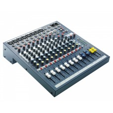 Soundcraft EPM8 8:2 Multipurpose Mixer 8-Mic 2-Stereo i/p Exc Rack Kit